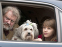 The dancing dog appears with Hugh Bonneville in the BBC's upcoming adaptation.