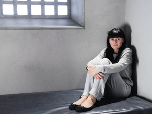 Emmerdale's Chas Dingle in a cell