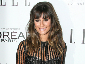 Lea Michele ELLE's 19th Annual Women in Hollywood Celebration held at Four Seasons Hotel - Arrivals Beverly Hills, California