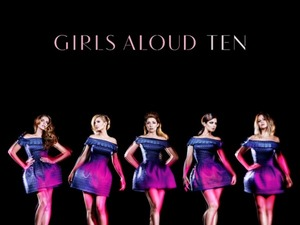 Girls Aloud 'Ten' artwork.