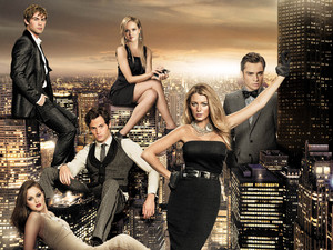 Gossip Girl, cast shot, series 6, Wed 17 Oct 2012