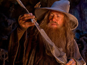 Sir Ian McKellen as Gandalf in 'The Hobbit: An Unexpected Journey'