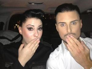 Ryland Clark and Lucy Spraggan head on a night out to G.A.Y club