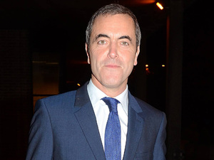 James Nesbitt leaves the RTE Studios for 'The Late Late Show'.