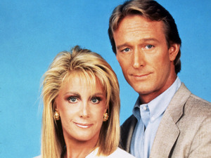 'Knots Landing' Ted Shackelford, Joan Van Ark