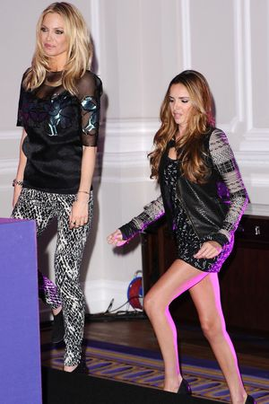 Cheryl Cole, Nicola Roberts, Girls Aloud, press conference