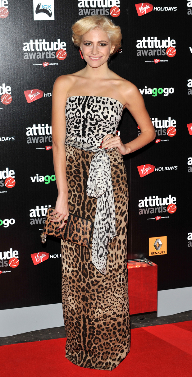 Pixie Lott at the Attitude Magazine Awards 2012 (16/10/12)