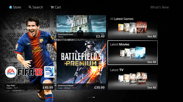Playstation Store Home