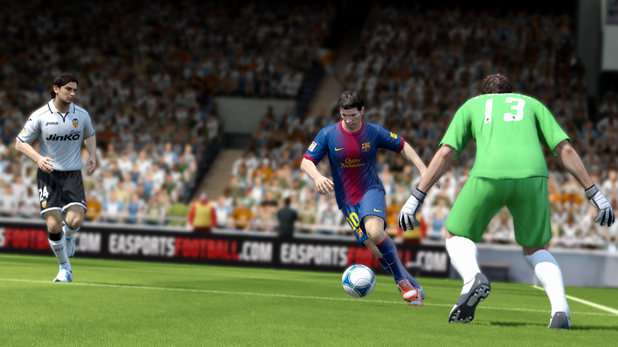 Fifa 13 for Wii U (screenshots)