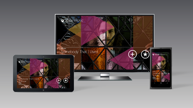 Xbox Music screenshot