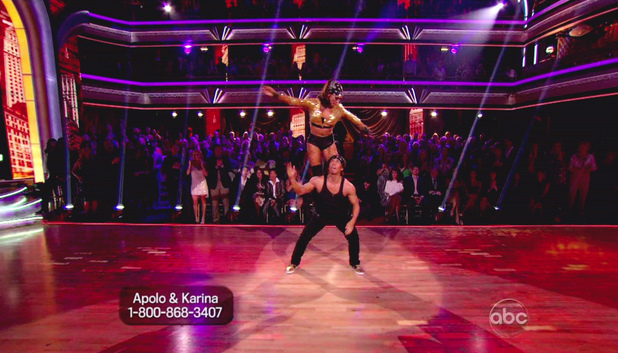 Dancing WIth The Stars S15E07: Apolo Anton Ohno and Karina Smirnoff 