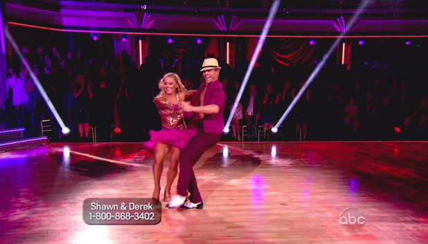 Dancing WIth The Stars S15E07: Shawn Johnson and Derek Hough