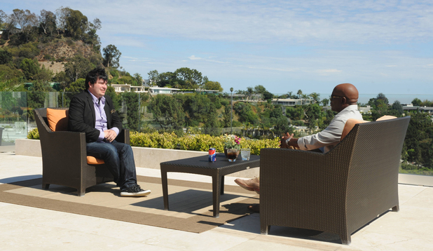 'The X Factor' USA: Judges' Houses - LA Reid with Jason Brock