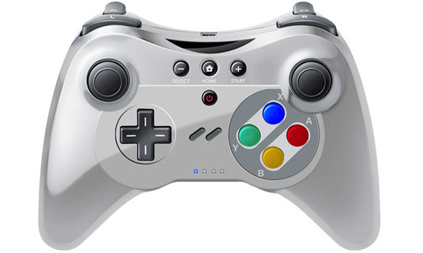 Wii U Controller - SNES Version