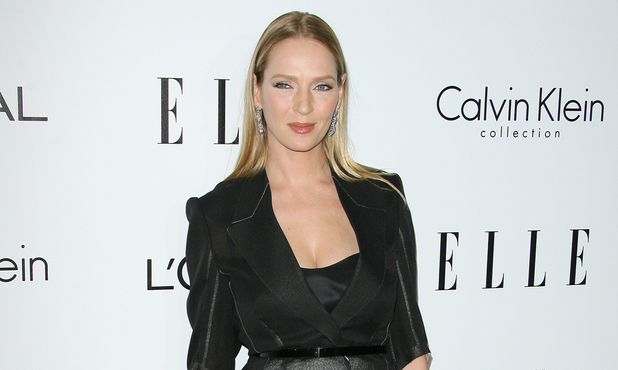 Uma Thurman ELLE's 19th Annual Women in Hollywood Celebration held at Four Seasons Hotel - Arrivals Beverly Hills, California - 15.10.12 Mandatory Credit: Adriana M. Barraza/WENN.com