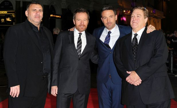 Graham King, Bryan Cranston, Ben Affleck and John Goodman
