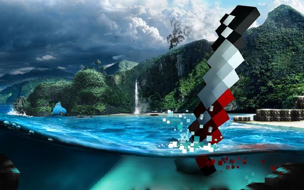 Far Cry 3: Minecraft 