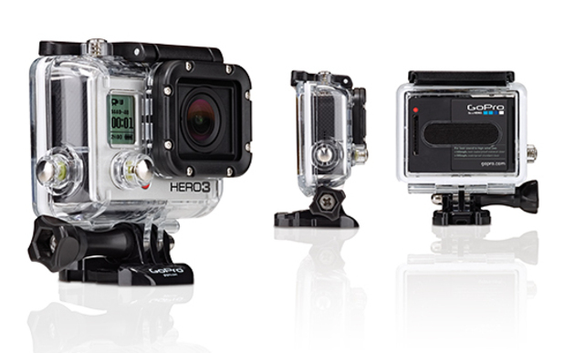 GoPro HERO3: Black edition, advanced camera