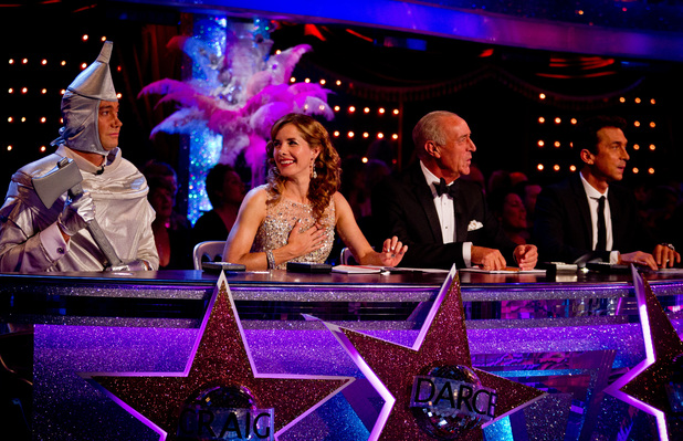 Strictly Come Dancing: Craig gets in the spirit of Movie night.