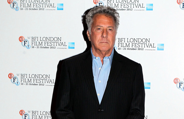 Director Dustin Hoffman arriving at the screening of 'Quartet'' at Odeon West End as part of the 56th BFI London Film Festival
