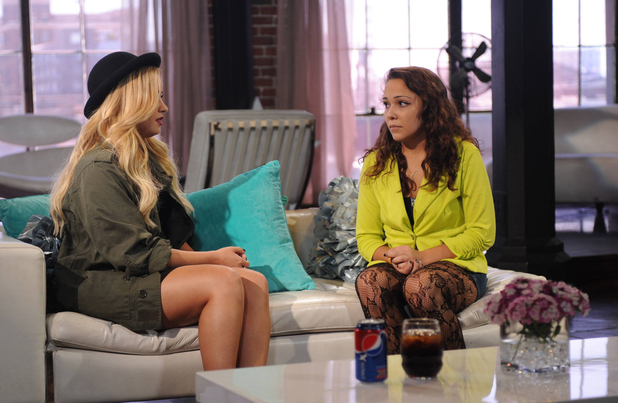 'The X Factor' USA: Judges' Houses - Demi Lovato with Jennel Garcia