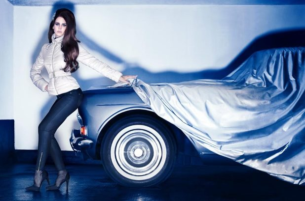 Lana Del Rey poses for H&M