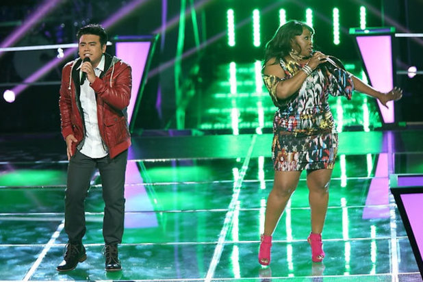 The Voice Season 3 - Battles part 3: Julio Cesar Castillo, Terisa Griffin