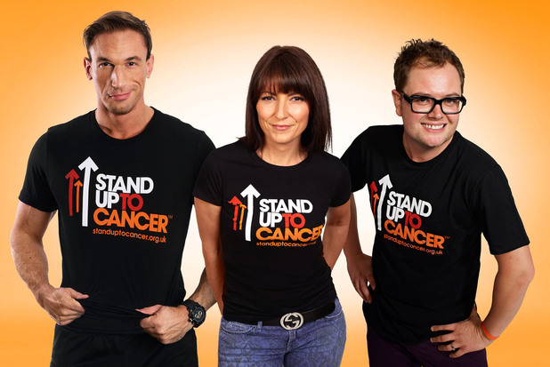 Stand Up To Cancer, Davina McCall, Alan Carr, Christian Jessen, Fri 19 Oct 2012