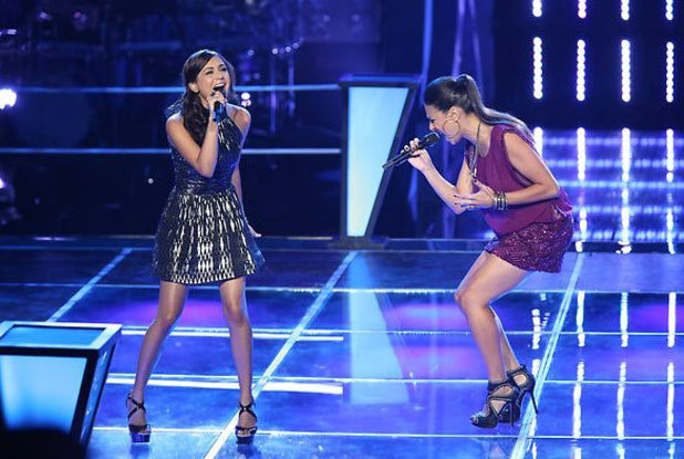 The Voice Season 3 - Battles part 3: Joselyn Rivera, Sylvia Yacoub