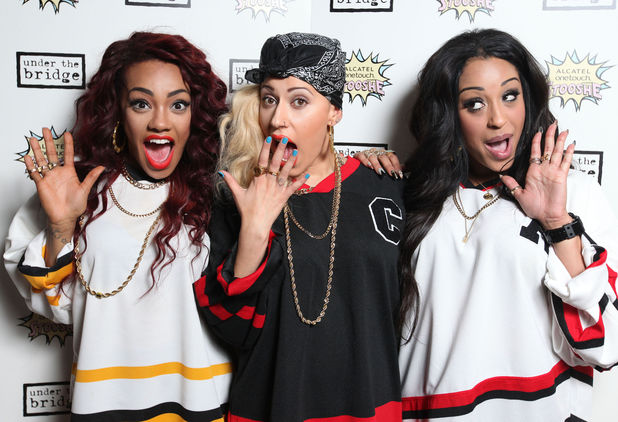 Stooshe at Under The Bridge gig, at Stamford Bridge.