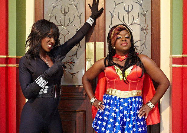 Diane Parish and Tameka Empson