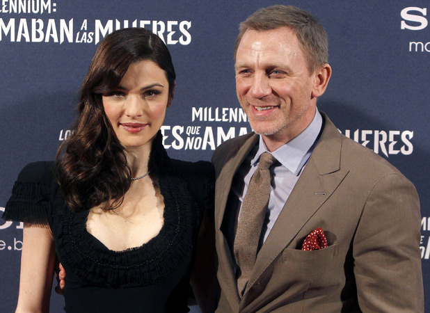 Rachel Weisz and Daniel Craig 2012