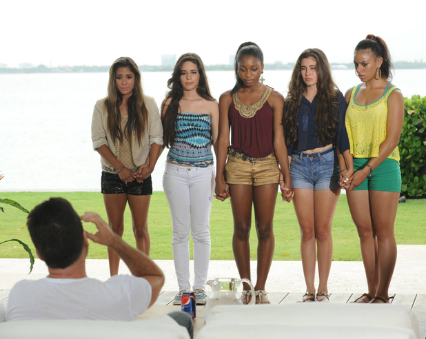 'The X Factor' USA: Judges' Houses - Simon Cowell with LYLAS