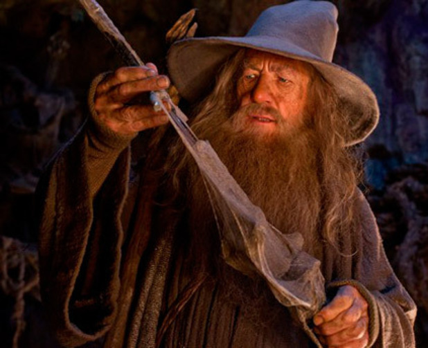 Sir Ian McKellen as Gandalf in &#39;The Hobbit: An Unexpected Journey&#39;