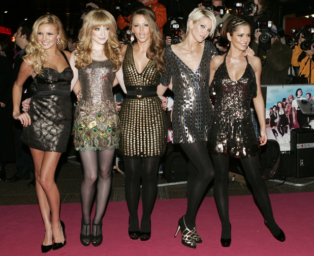 Girls Aloud, St Trinians premiere
