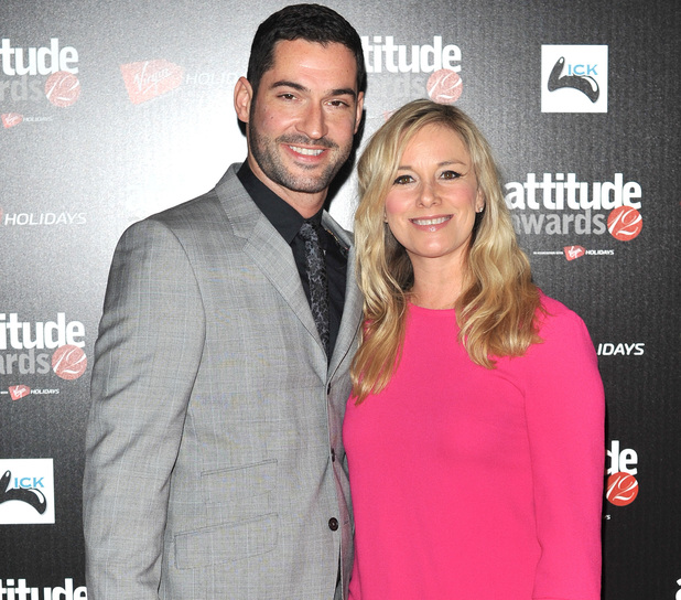 Tamzin Outhwaite and Tom Ellis at the Attitude Magazine Awards 2012 (16/10/12)