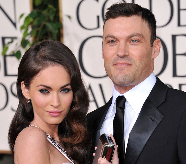 Megan Fox and Brian Austin Green 68th Annual Golden Globe Awards held at The Beverly Hilton hotel - Arrivals Beverly Hills, California - 16.01.11 **Only available for publication in the UK, USA Daily Newspapers, Germany, Austria and Switzerland, Australia, Portugal, Canada, United Arab Emirates & China. Not available for USA Magazines and the rest of the world** Mandatory Credit: WENN.com