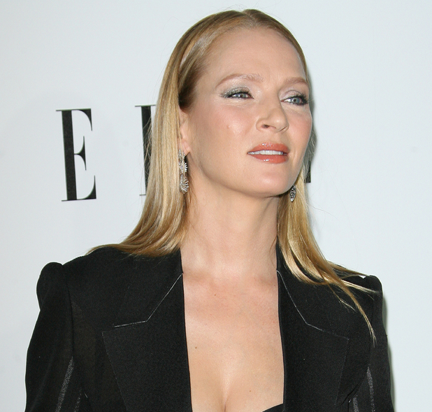 Uma Thurman ELLE's 19th Annual Women in Hollywood Celebration held at Four Seasons Hotel - Arrivals Beverly Hills, California