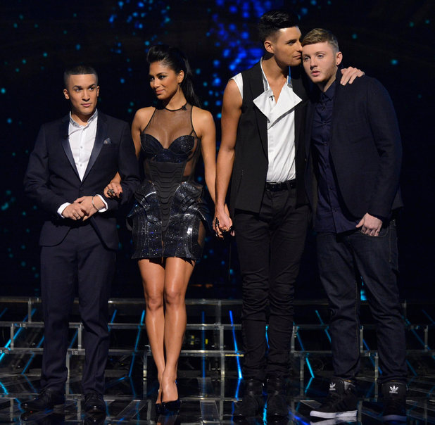 The X Factor Results Show: Nicole and the boys await their fate.
