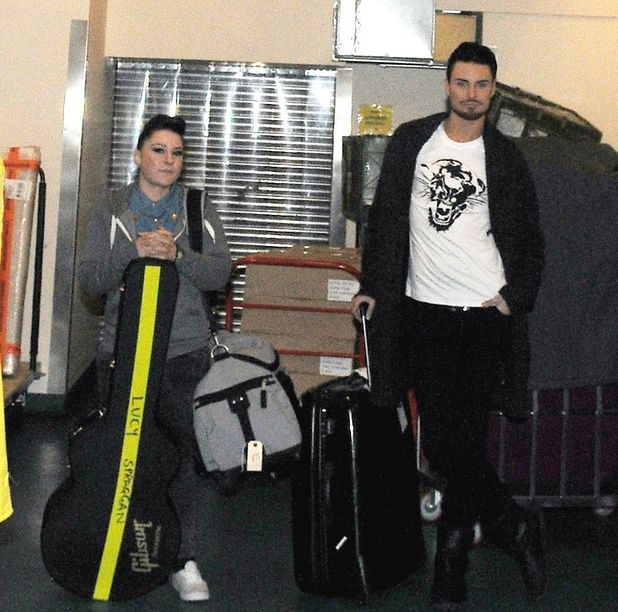 Rylan Clark and Lucy Spraggan are kicked out of The X Factor hotel