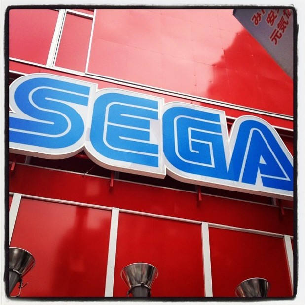 SEGA Instagram 'Hanging out at Club SEGA in Akihabara.'