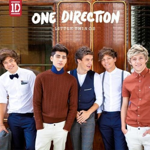 One Direction &#39;Little Things&#39; Artwork