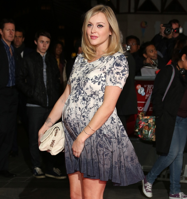 Pregnant Fearne Cotton 56th BFI London Film Festival - 'The Rolling Stones: Crossfire Hurricane' - Gala Screening - Arrivals London, England - 18.10.12 Mandatory Credit: Lia Toby/WENN.com