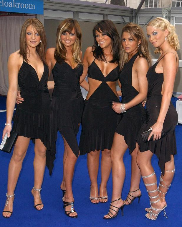 Girls Aloud during the Glamour Women Of The Year Awards at Berkeley Square in central London