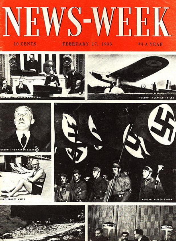 'Newsweek' cover