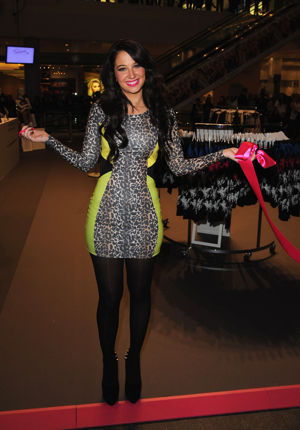 Tulisa - 'TFB by Tulisa' launch