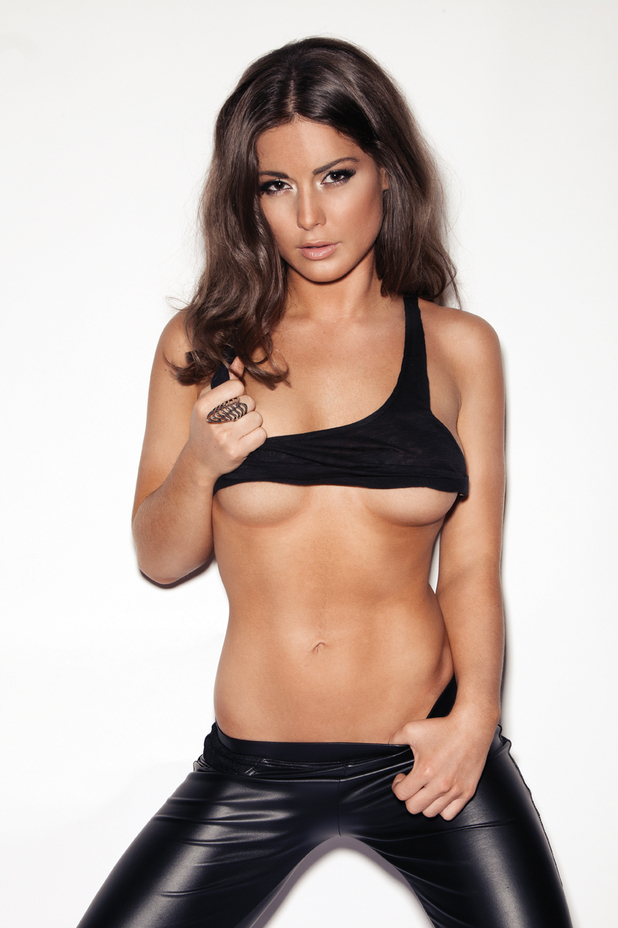 'Made In Chelsea's Louise Thompson strips off for Loaded