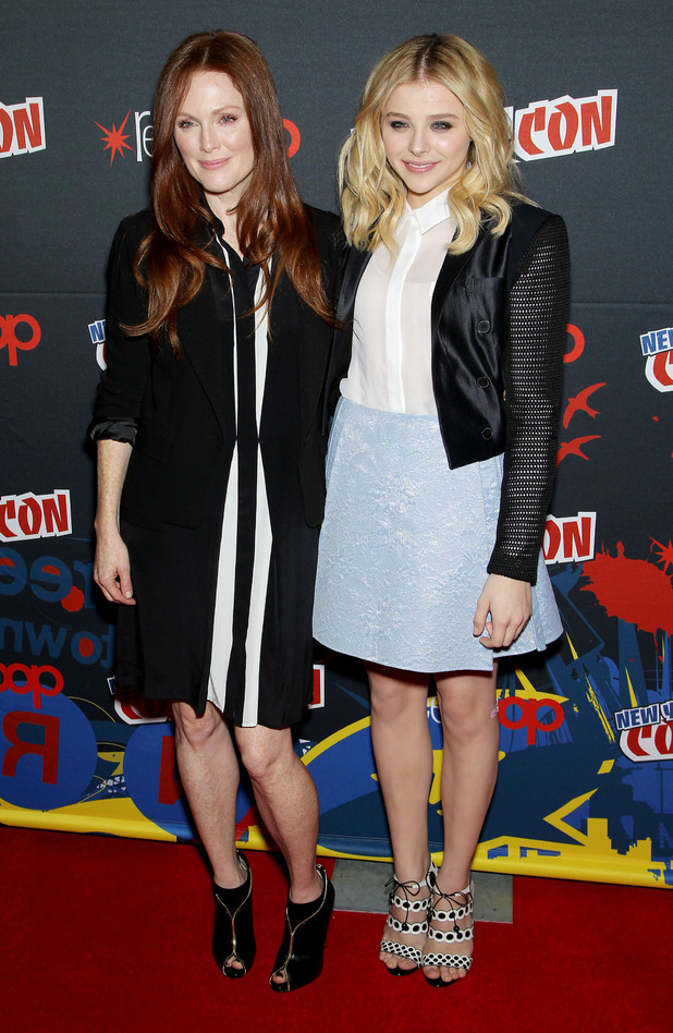 Julianne Moore, Chloe Grace Moretz, Comic Con Presents MGM / Sony Screen Gems Re-make of Carrie,