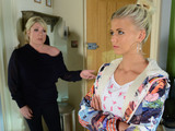 Lola tries to convince Sharon to help her get Lexi back by lying to Social Services.