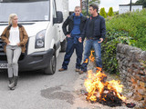 6382: Cain and Charity worry about Debbie as she furiously trashes Cameron's truck and setting fire to his things